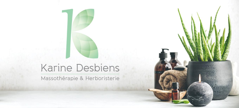 Logo Karine Desbiens
