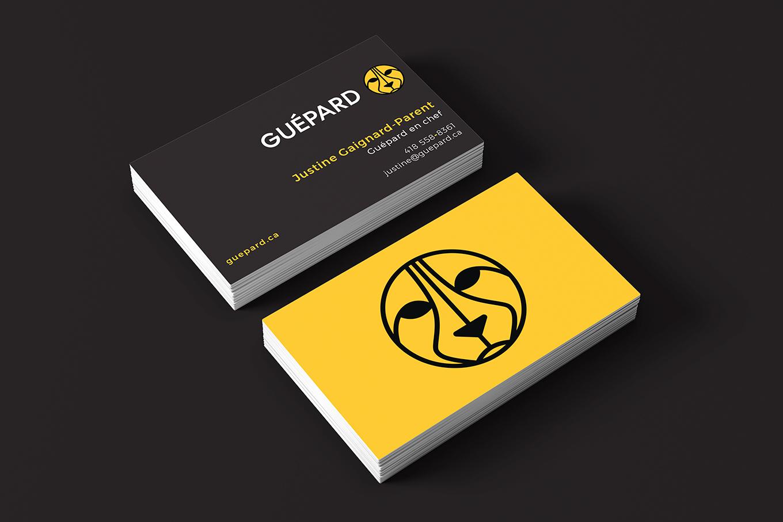 Guépard - conception de logo