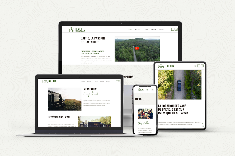 Baltic Hébergement - Site Web