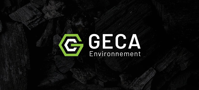 Geca Environnement - Conception de site web