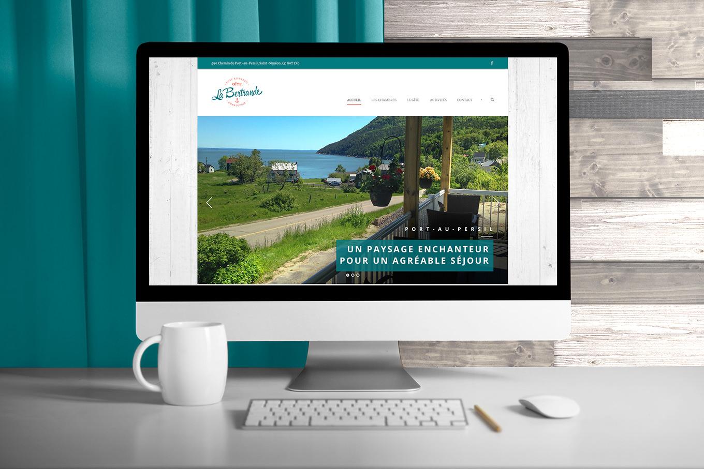 Gîte La Bertrande - Site Web